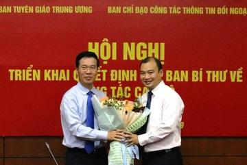 Ông Lê Hải Bình làm Phó ban chuyên trách về thông tin đối ngoại