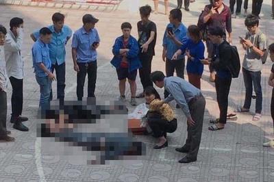 Danh tính sinh viên ĐH Kiến trúc Hà Nội bị thương vì người tự tử rơi trúng