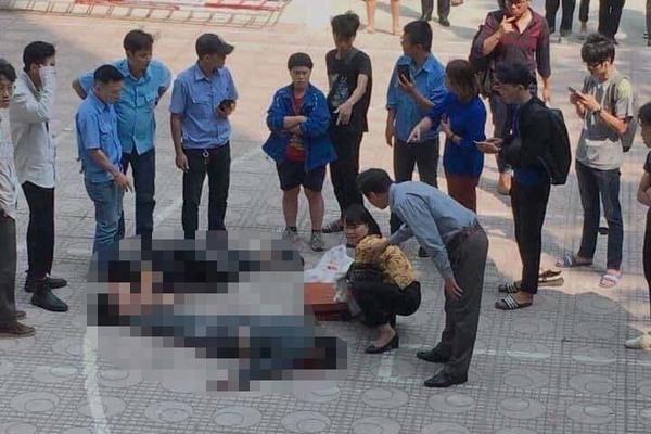 Sinh viên ĐH Kiến trúc Hà Nội bị thương nặng vì người tự tử rơi trúng