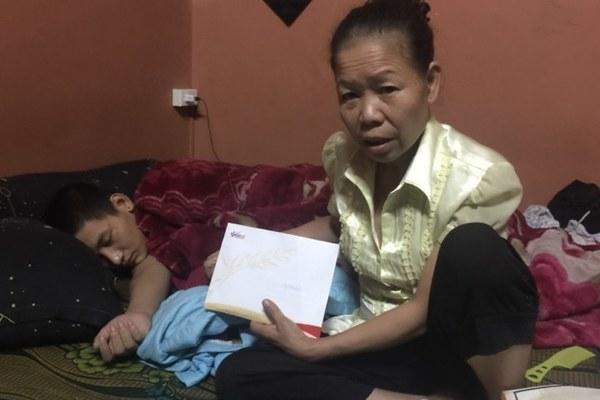 Nhờ có bạn đọc giúp đỡ em Phạm Anh Tú bị tai nạn sức khỏe đã bình phục