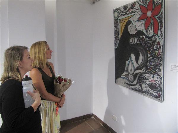 Da Nang,Fine Arts Museum,exhibition,expat community,locals