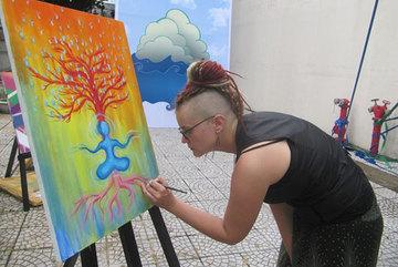 Da Nang: Expat community exchanges art love with locals