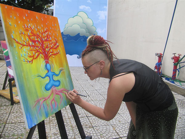 Da Nang: Expat community exchanges art love with locals
