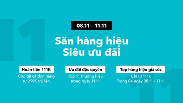 Leflair tung ưu đãi hàng ngàn sản phẩm cao cấp ngày độc thân 11/11