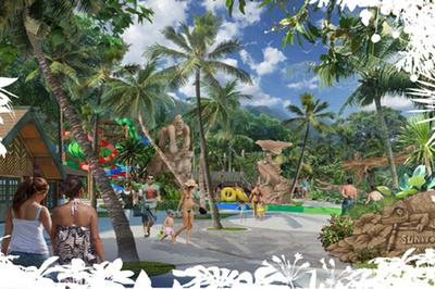 Sắp có công viên nước hiện đại nhất Đông Nam Á trên đảo Ngọc