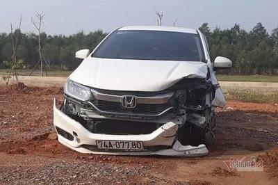 Phó giám đốc BV ở Quảng Trị hoảng loạn sau khi tông 2 chị em ruột nguy kịch