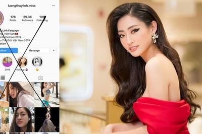 Lương Thùy Linh bức xúc vì tài khoản mạng xã hội giả mạo đăng ảnh bán nude