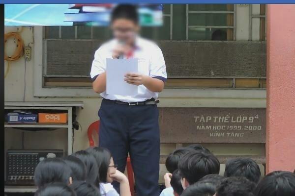 'Bắt học sinh kiểm điểm giữa trường rồi quay clip đưa lên mạng là phản cảm'