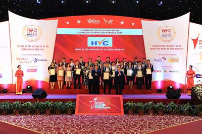 HVC Group vào top 500 DN lợi nhuận tốt nhất Việt Nam năm 2019