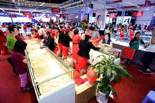 Hội chợ VIJF - điểm hẹn những người yêu trang sức