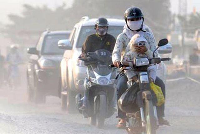 air pollution in hanoi,Vietnam environment,climate change in Vietnam