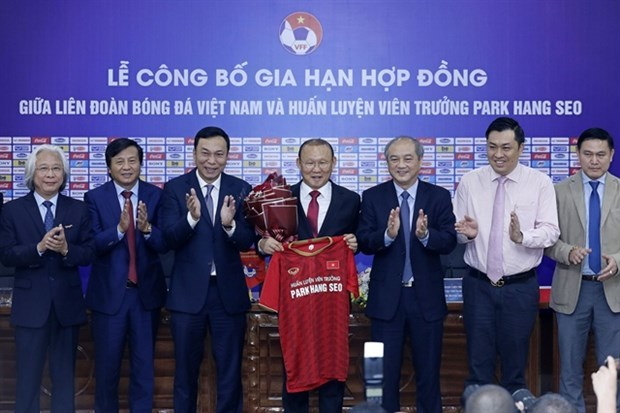 Park Hang-seo,extend contract,Vietnam's national,U23 football team,Vietnam Football Federation VFF,SEA Games,AFC U23 Championship,2022 World Cup qualifiers