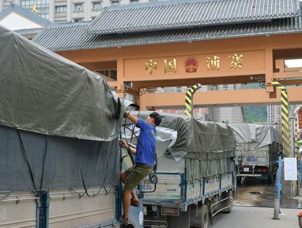 escalating US-China trade war,Vietnams trade gap with China,29.5 billion USD,Made in Vietnam labels,suspicious aluminum shipment
