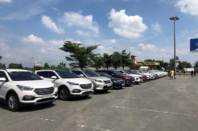 Bridgestone Việt Nam đồng hành cùng hội yêu xe SantaFe miền Nam