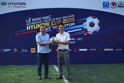Hyundai Lê Văn Lương đồng hành cùng Hyundai Cup 2019