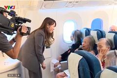 Chuyến bay xúc động trên Boeing 787 của các cụ già ở viện dưỡng lão