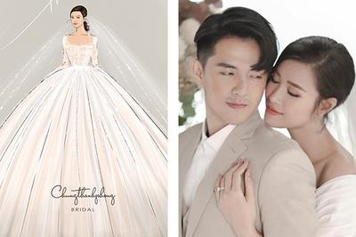 Hé lộ 2 váy cưới chính thức của Đông Nhi trong ngày cưới Ông Cao Thắng