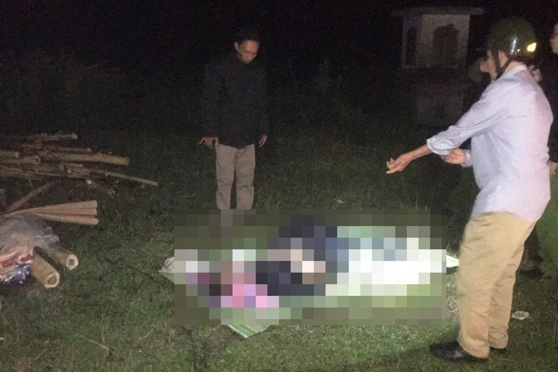 Ô tô lao xuống hồ nước, tài xế Nghệ An mắc kẹt tử vong