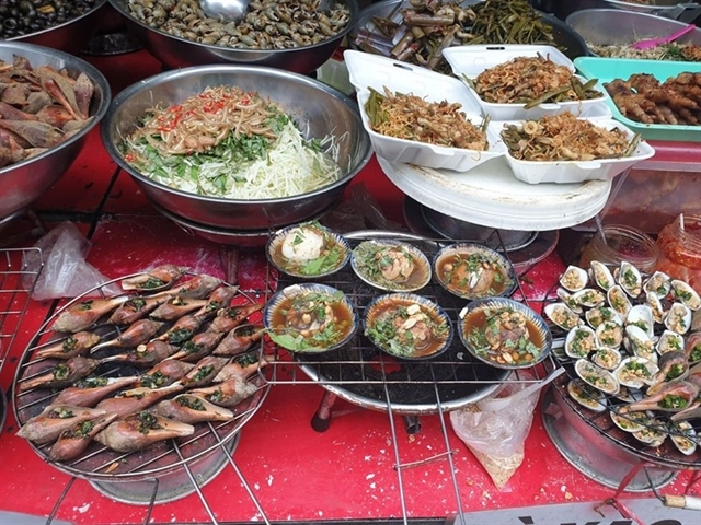 Hanoi: street foods test positive forcarcinogens