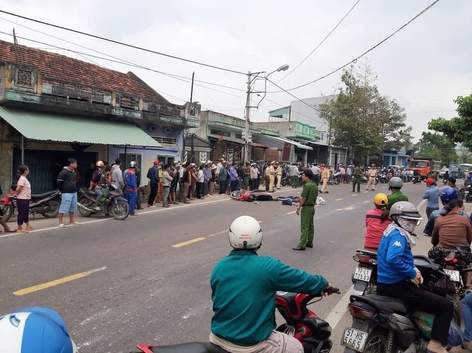 Xe đầu kéo tông chết thanh niên trẻ trên quốc lộ 19 ở Bình Định