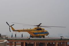 Air medical service debuted in HCM City
