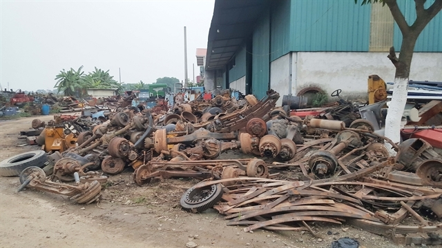 Recycling harms environment in Vinh Phuc