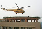 Sức mạnh trực thăng đa năng Việt Nam lần đầu hạ cánh trên nóc bệnh viện