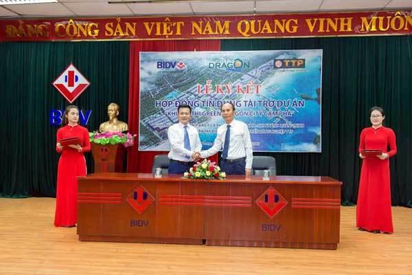 BIDV Quảng Ninh tài trợ tín dụng cho dự án KĐT Green Dragon City