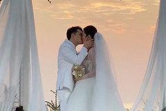 Ông Cao Thắng nói lời yêu, hôn say đắm Đông Nhi trong lễ cưới