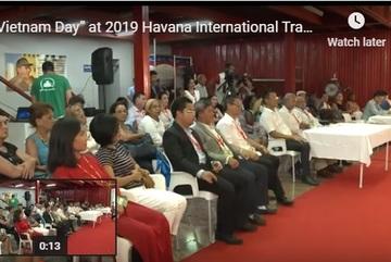 """""""Vietnam Day"""" at 2019 Havana International Trade Fair"""