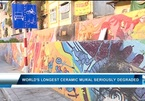 World's longest ceramic mural seriously degraded