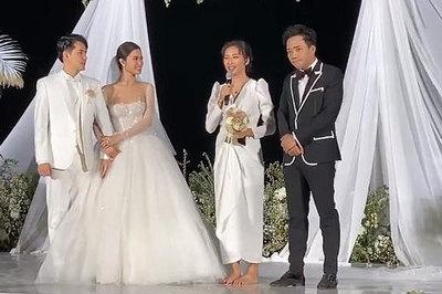 Ngô Thanh Vân thừa nhận bỏ cuộc trong tình yêu giữa đám cưới Đông Nhi