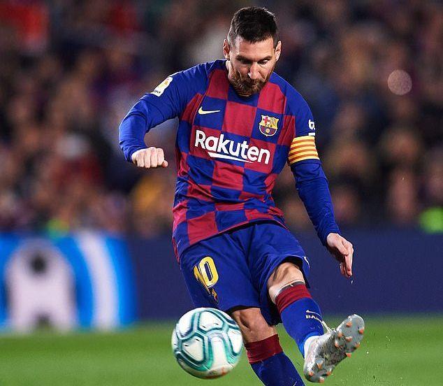 Messi vẽ 2 siêu phẩm, Barca nhấn chìm Celta Vigo