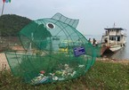Fish-shaped bamboo dustbins help protect environment in Vietnam's island