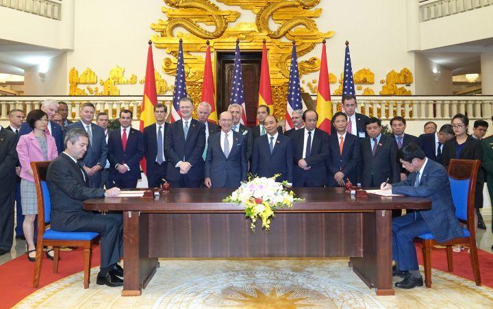 Vietnam Airlines,Pratt & Whitney,US Secretary of Commerce Wilbur Ross