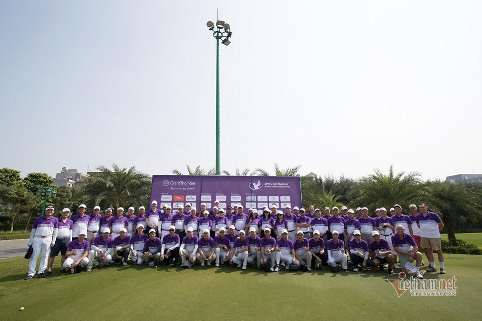 Tưng bừng khai mạc giải Grant Thornton Annual Golf Championship