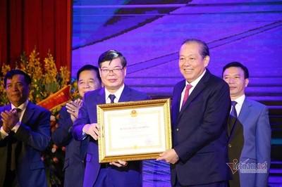 ĐH Luật Hà Nội nhận Huân chương Lao động hạng Nhất lần thứ 2