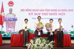 Nghệ An bầu bổ sung 2 Phó chủ tịch tỉnh