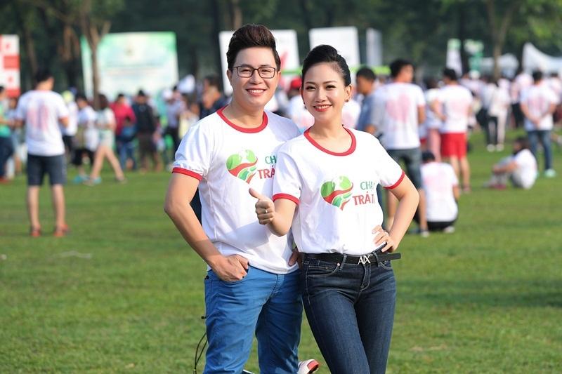 3 MC nổi tiếng VTV cùng 9.000 người 'Chạy vì trái tim 2019'