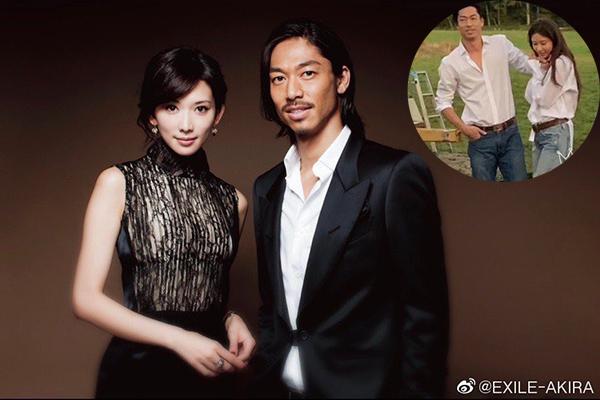 Lâm Chí Linh và bạn trai người Nhật mặc sơ mi, quần jean chụp ảnh cưới