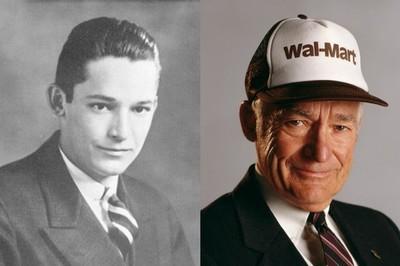 Tuổi trẻ từng bán báo, rửa bát thuê của cha đẻ tập đoàn Walmart