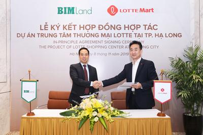 BIM Land bắt tay Lotte Mart xây TTTM ở Hạ Long