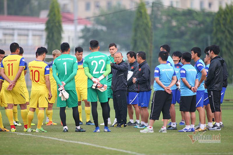 Thầy Park ban lệnh 'đặc biệt' trước khi đấu UAE, Thái Lan