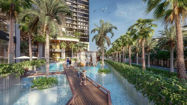 Homes Resort giữa hồ nhân tạo lớn bậc nhất Sài Gòn