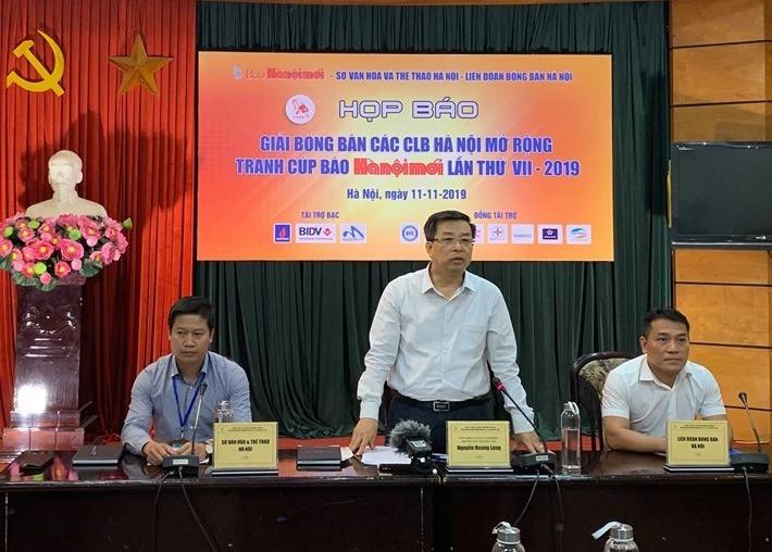 300 VĐV dự giải bóng bàn tranh Cúp báo Hà Nội Mới 2019