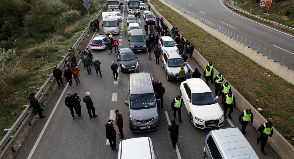 Tây Ban Nha,Pháp,Catalan,biểu tình,độc lập,biên giới