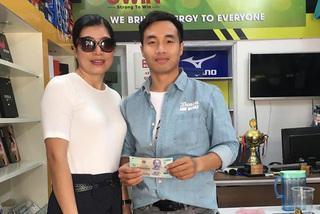 Nam thanh niên trả lại 50 triệu đồng nhặt được ở cây ATM