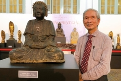 Exhibition on ancient Buddha statues in HCM City