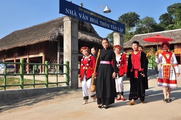 """Tuyên Quang: Nông thôn đã thực sự """"mặc áo mới"""""""
