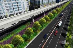 Phối cảnh tuyến metro đầu tiên của Sài Gòn, gần 15km xanh ngút mắt